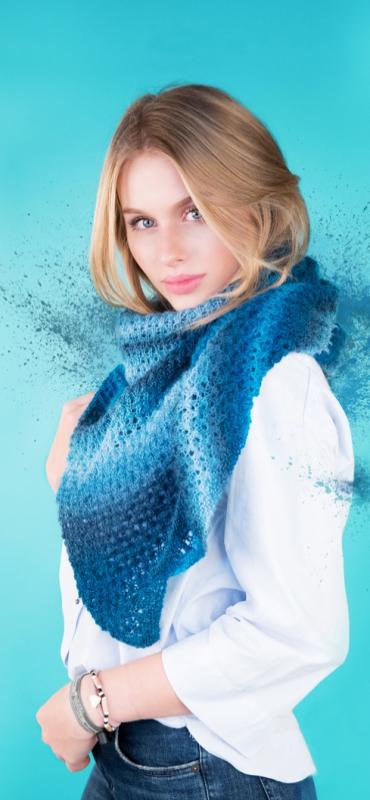 Stola Gründl Pacific Lace *Farbverlaufsgarn* 100g für Tücher Schals traumhaft